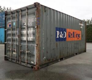 20ft Damaged Shipping Container - Call For Availability