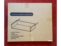B&Q standard 600mm Kitchen Drawer