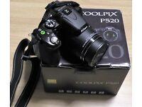 Bridge Camera - Nikon CoolPix P520 18MP 42x Superzoom