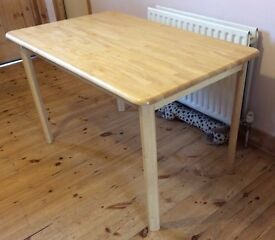 John Lewis Wooden Dining Table, 6 seater