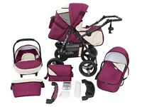 Brand new pram/buggy with accessories