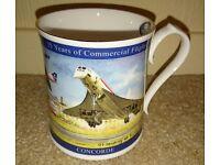 Aynsley 25th Anniversary of Concorde Ltd Edition 3,000 Bone China Tankard