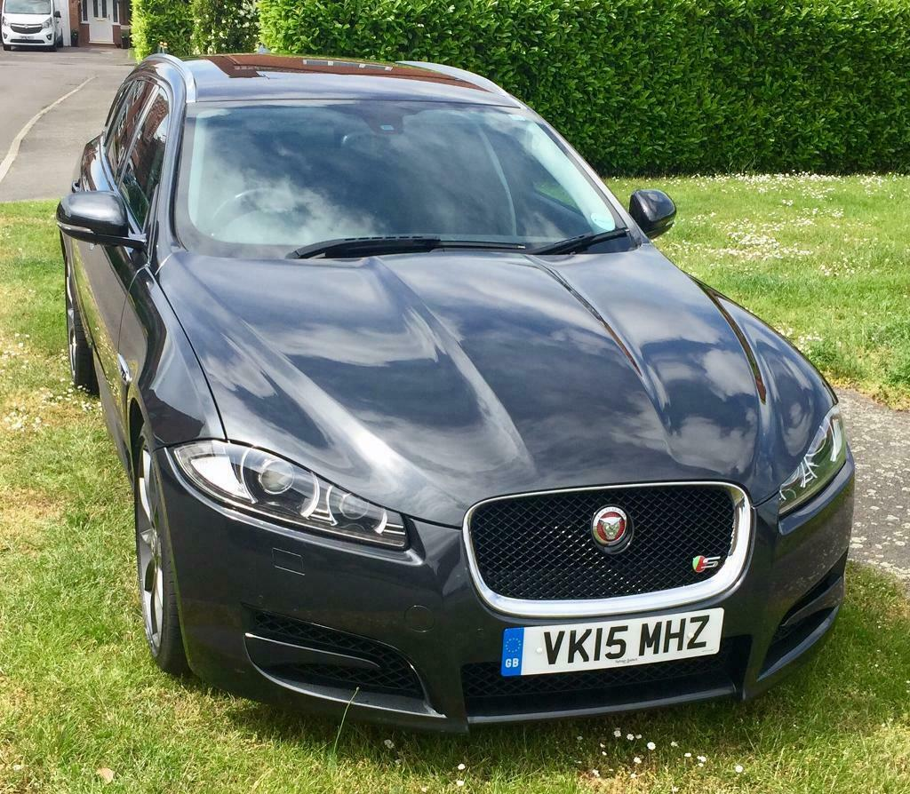 Jaguar Xf Sportbrake: Jaguar XF Sportbrake R Sport 2015 In Charcoal Grey NOW