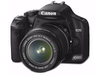 BARGAIN SALE - Canon EOS 450D Digital SLR Camera Kit + 2 x Lenses + Filters + Sling Bag