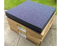 New Carpet Tiles - Burmatex Tivoli Barbados Blue 50cmx50cm
