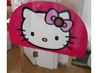 My little kitty head board
