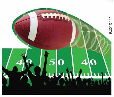 Football Sports Super Bowl Watch College Theme Party Wall Decoration Cutouts - Football Themed Parties