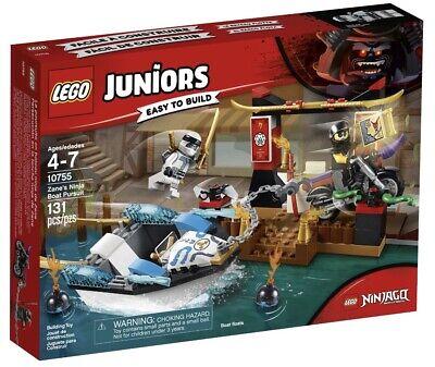 *BRAND NEW* Lego Ninjago Juniors Set #10755 Zane's Ninja Boat Pursuit
