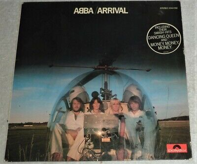 """USED""  VINYL LP by ABBA ""ARRIVAL"" / GERMANY (1976) / POLYDOR 2344 058"