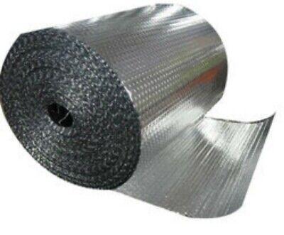 316 Single Foil Bubble Insulation Reflective Wrap - 12 X 50