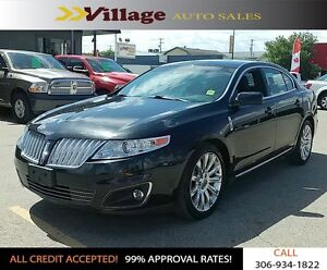 2010 Lincoln MKS All Wheel Drive, Back-up Camera, Bluetooth,...
