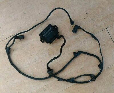 GENUINE Audi S3/A3 rear parking sensor module and wiring loom 8p0919283d PDC kit