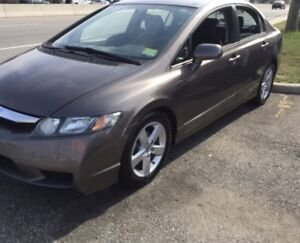 2009 HONDA CIVIC LX-S WITH SUNROOF EXCELLENT CONDITION FOR SALE