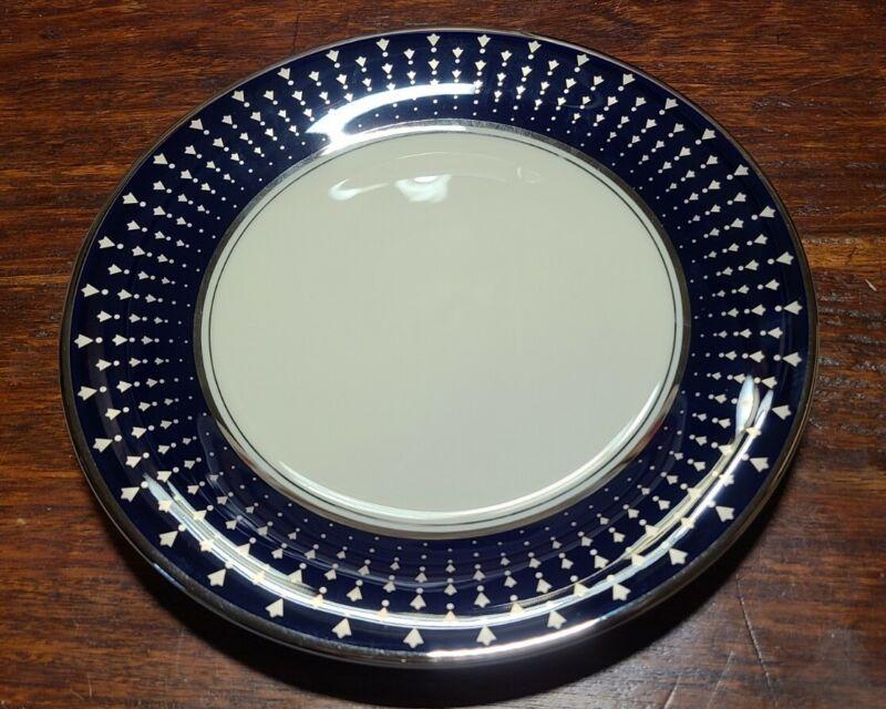 "PICKARD STARBURST PLATINUM SALAD PLATE - 8 3/8""  0512E"