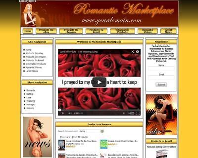 Established Dating Shop Make Money Affiliate Online Business Website For Sale