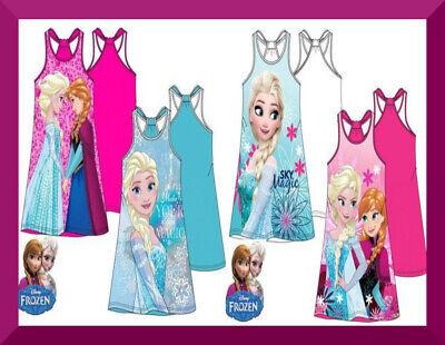 Disney Frozen Eiskönigin Anna Elsa Sommer Kleid 104 110 116 128 LIZENZ NEU