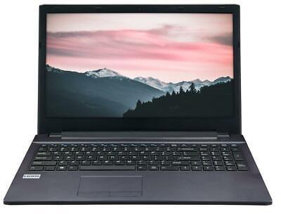 "Box Celeron 15.6"" Quad Core Laptop 4GB Ram 500GB Wireless"