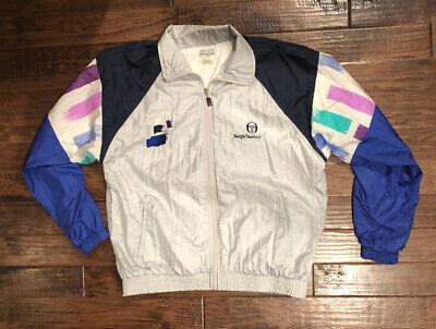 Sergio Tacchini Women's Vintage Track Jacket, 36
