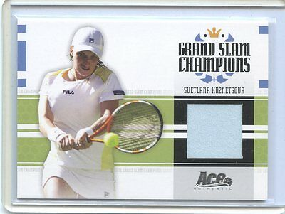 2005 Ace Authentic Grand Slam Champions Svetlana Kuznetsova Jersey   434 500