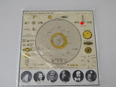 SUN RA LP THE HELIOCENTRIC WORLDS OF..VOL 2 1981 BASE ESP-DISK 1017 ITALY
