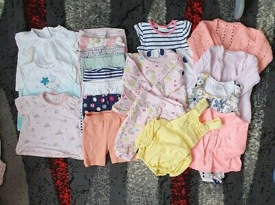 Baby Girl newborn First Size Clothes Bundle Summer Up To 1 Month