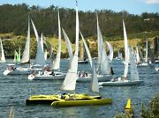 30' Sports Trimaran Cygnet Huon Valley Preview