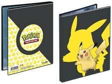 Ultra Pro, Pokémon Pikachu 2019 4 pocket portfolio, Hold 80 Cards New