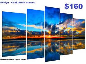 Modern Framed Canvas Prints - 16 DESIGNS ! CHOOSE NOW ! Baldivis Rockingham Area Preview