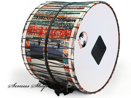 Middle Eastern Pro 20 7/8in Davul Drums/Percussion Drum Dhol Handmade With LED