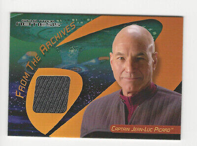 Captain Jean-Luc Picard Star Trek 40th Anniversary Nemesis Costume Card C33