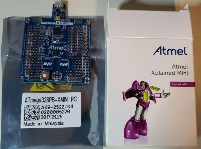 MICROCHIP ATMEL AVR Xplained Mini ATmega328PB-XMINI Evaluation Development Board