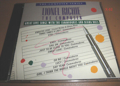 LIONEL RICHIE composer CD Commodores DIANA ROSS endless love EASY hits