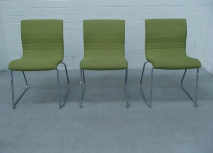egans 8x wise stacker chair bright green office chairs