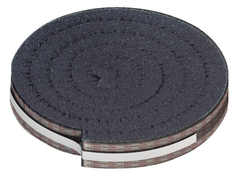 "Roof Ridge Vent Foam 1-1/2"" X 10"