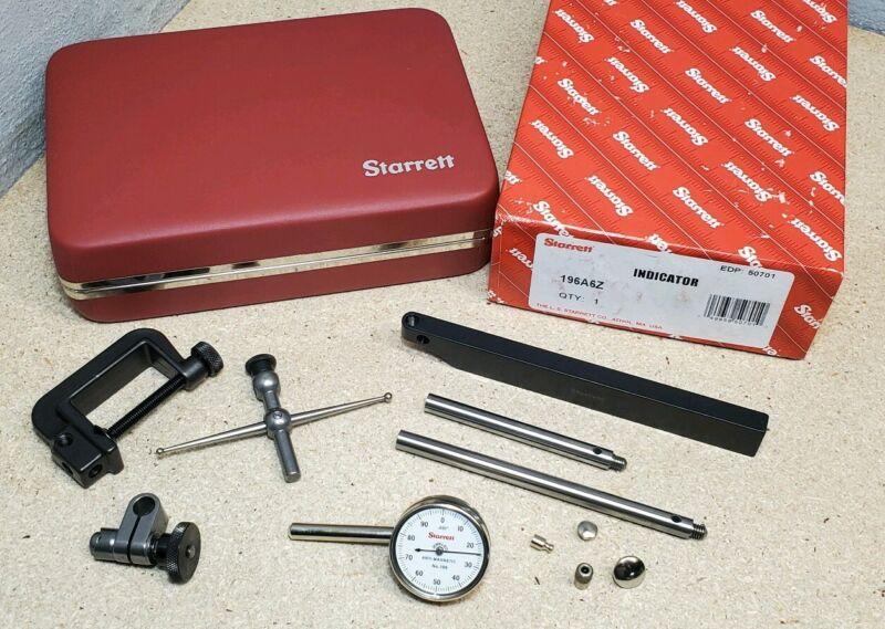 Starrett No. 196 dial indicator set *MINT*