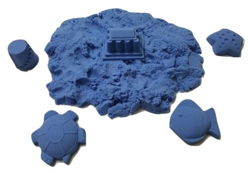 2 lb Refill Light Blue Space sand / Moon Crazy Sand Mold-N-Play Kid Fun