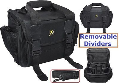 Pro Durable Extreme Padded Camera Camcorder Case For Sony Canon Samsung Nikon Samsung Camcorder Cases