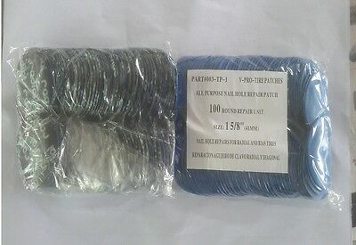 300 pc Radial Repair Round Tire Patch High Quality Small 1-5/8(41mm)