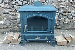 Efel harmony 1 euroheat multifuel woodburning stove 7-10kw log burner woodburner