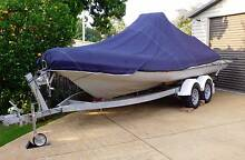 MacBoat 570 Center Console, 50HP Mercury, Dual Axle Trailer. Chester Hill Bankstown Area Preview