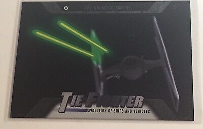 2016 Star Wars Evolution: TIE FIGHTER (The Galactic Empire) EV-5 Trading Card