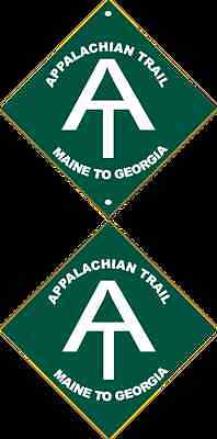 2 Appalachian Trail Decals Free Shipping