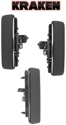 Kraken Metal Front Outside Door Handles For 85-05 Astro Safari With Rear Cargo