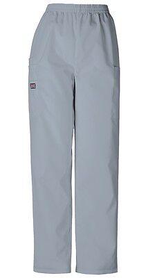 - Cherokee Workwear Scrubs Pull On Cargo Pant GREY 4200 elastic waist pants