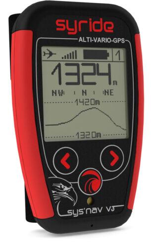 Syride Variometer Sys Nav V3  For Paragliding And Ppg