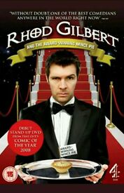 "Rhod Gilbert ""the award winning mince pie"" DVD"