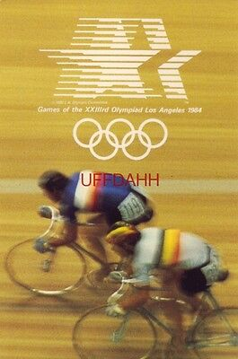 Continental-size GAMES OF THE XXIIId OLYMPIAD LOS ANGELES 1984 Cycling Velodrome