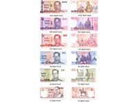 Wanted any thai baht notes or coins