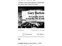 Gary Barlow tickets