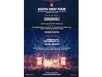 2 x SW4 Sunday tickets